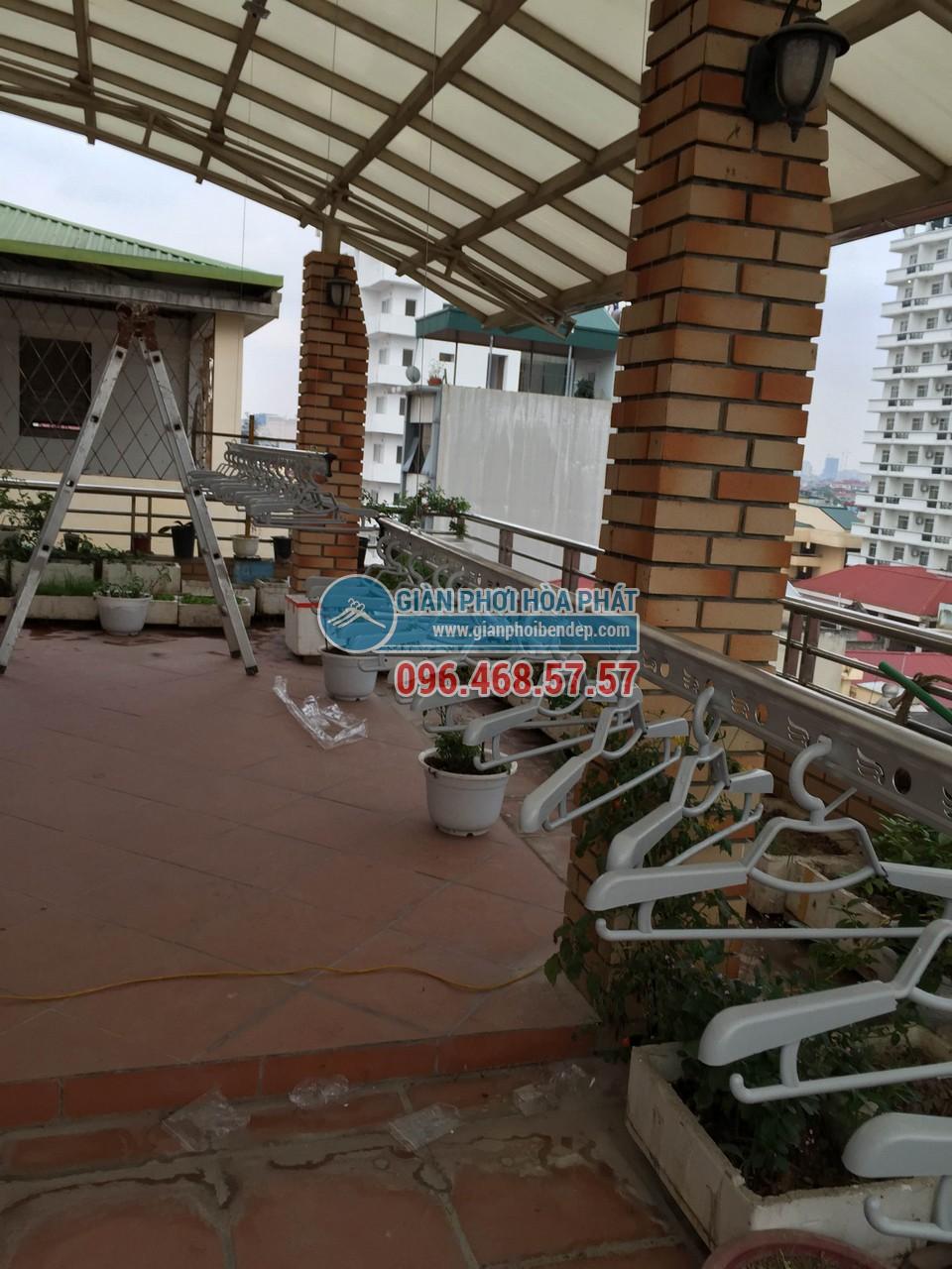 Báo giá trọn gói lắp đặt giàn phơi thông minh bền đẹp tại Hà Nội 01