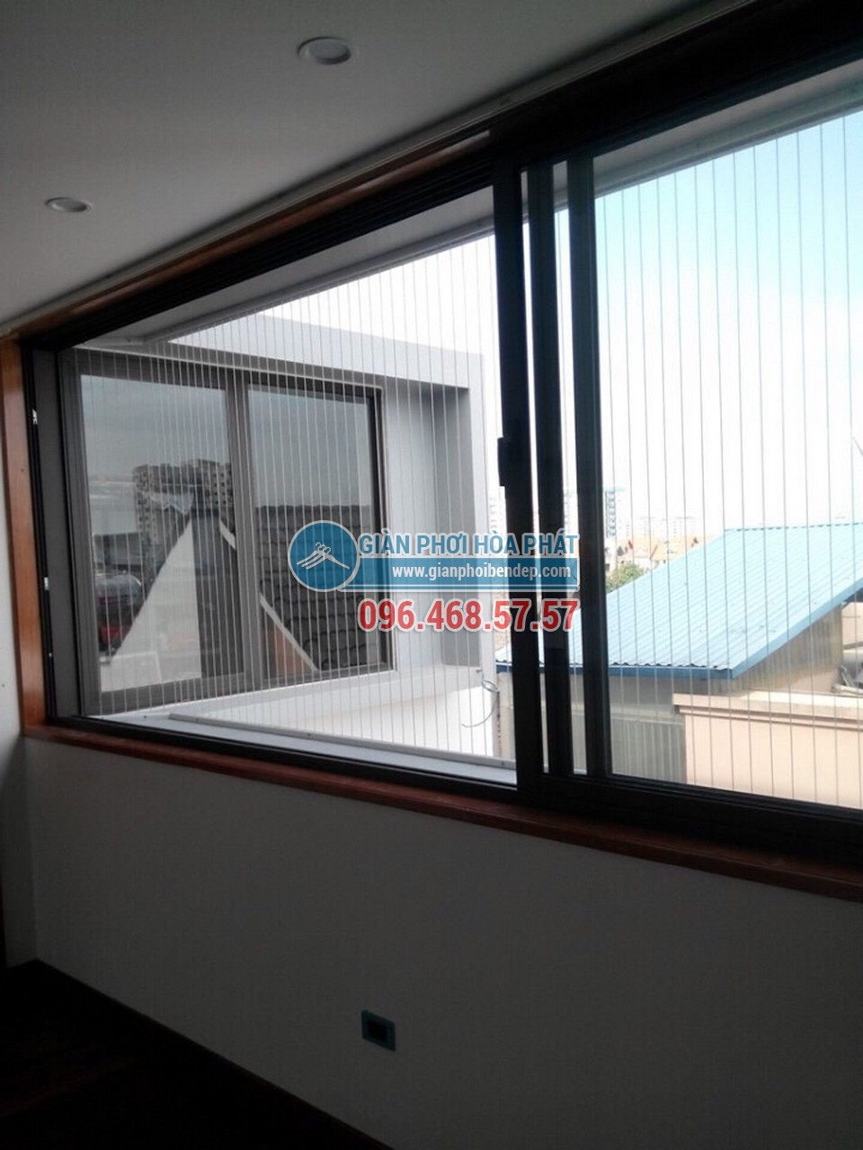 Ban công đẹp ngỡ ngàng nhờ lắp đặt lưới an toàn nhà chị Đào, KĐT Mỗ Lao - 06