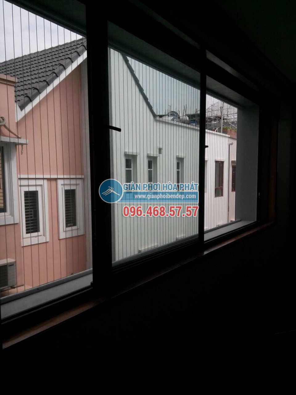 Ban công đẹp ngỡ ngàng nhờ lắp đặt lưới an toàn nhà chị Đào, KĐT Mỗ Lao - 04
