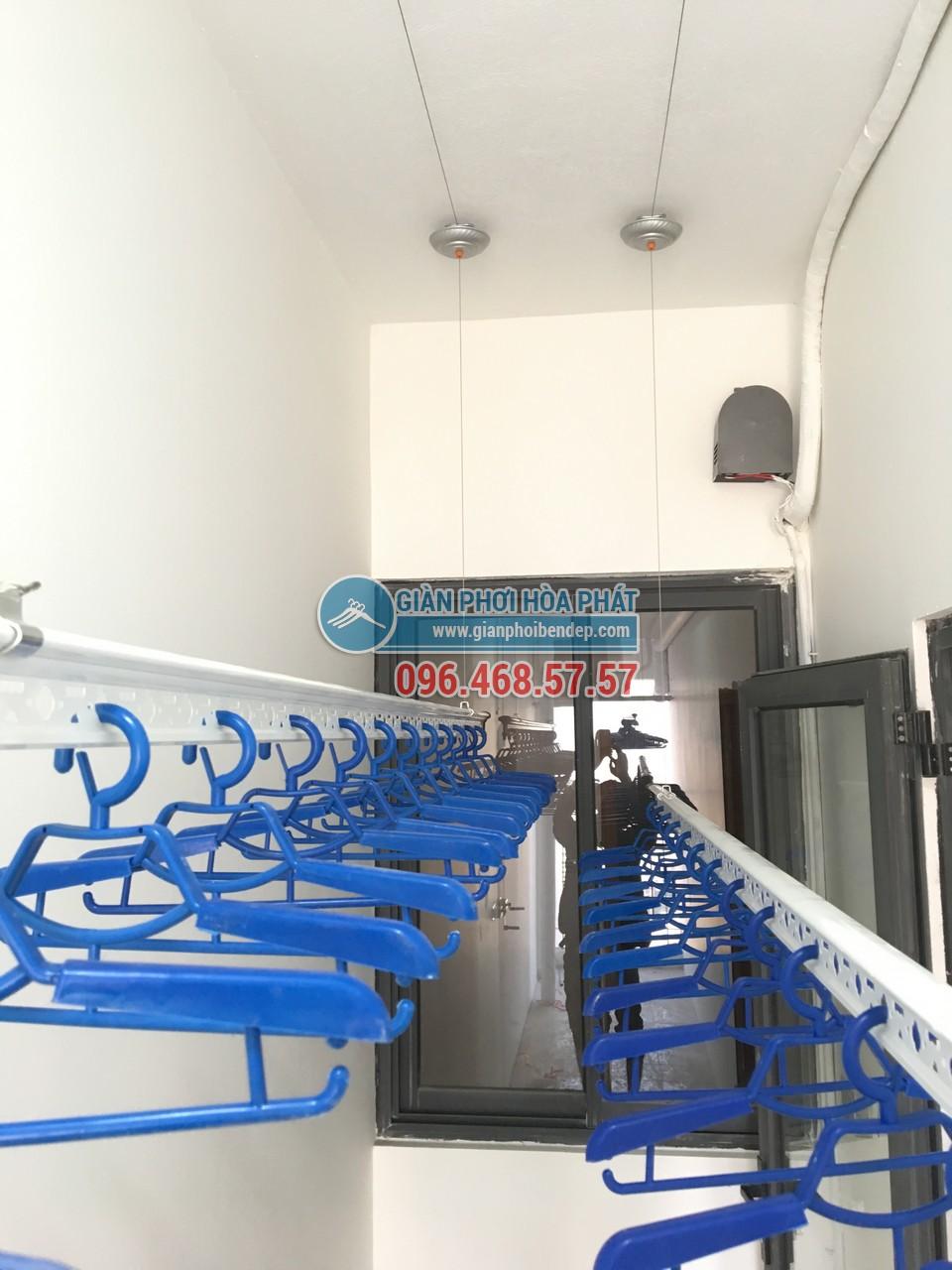 Lắp đặt giàn phơi thông minh Hải Phòng giá rẻ, chính hãng Hòa Phát
