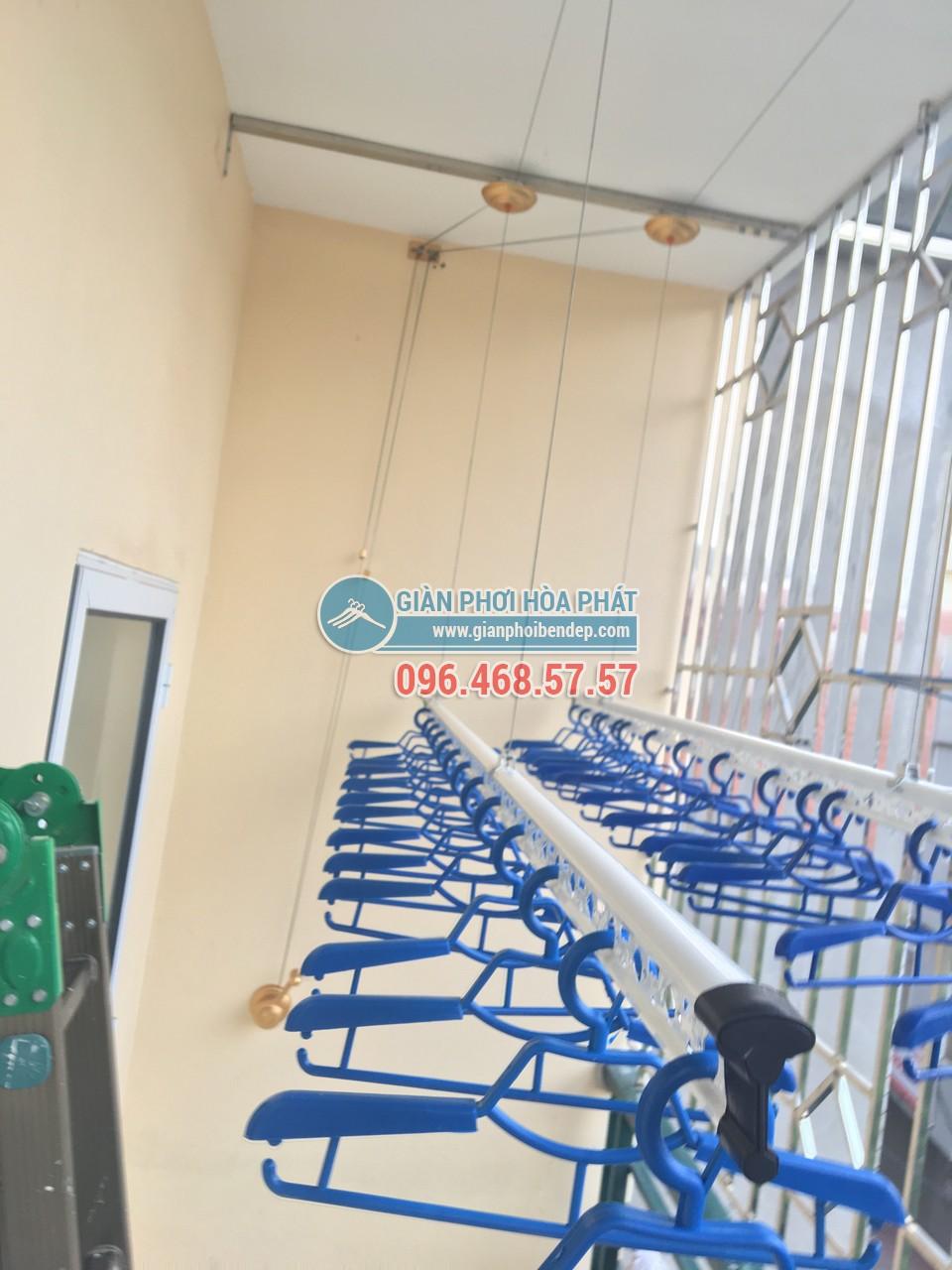 Lắp đặt giàn phơi thông minh Hải Phòng giá rẻ, chính hãng Hòa Phát - 02