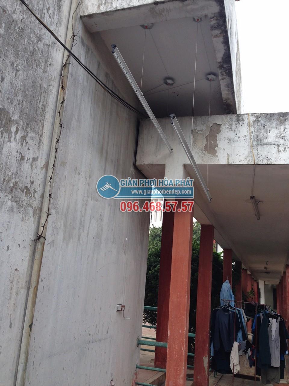 Lắp đặt giàn phơi thông minh nhà anh Việt, số 155 Trường Chinh - 04