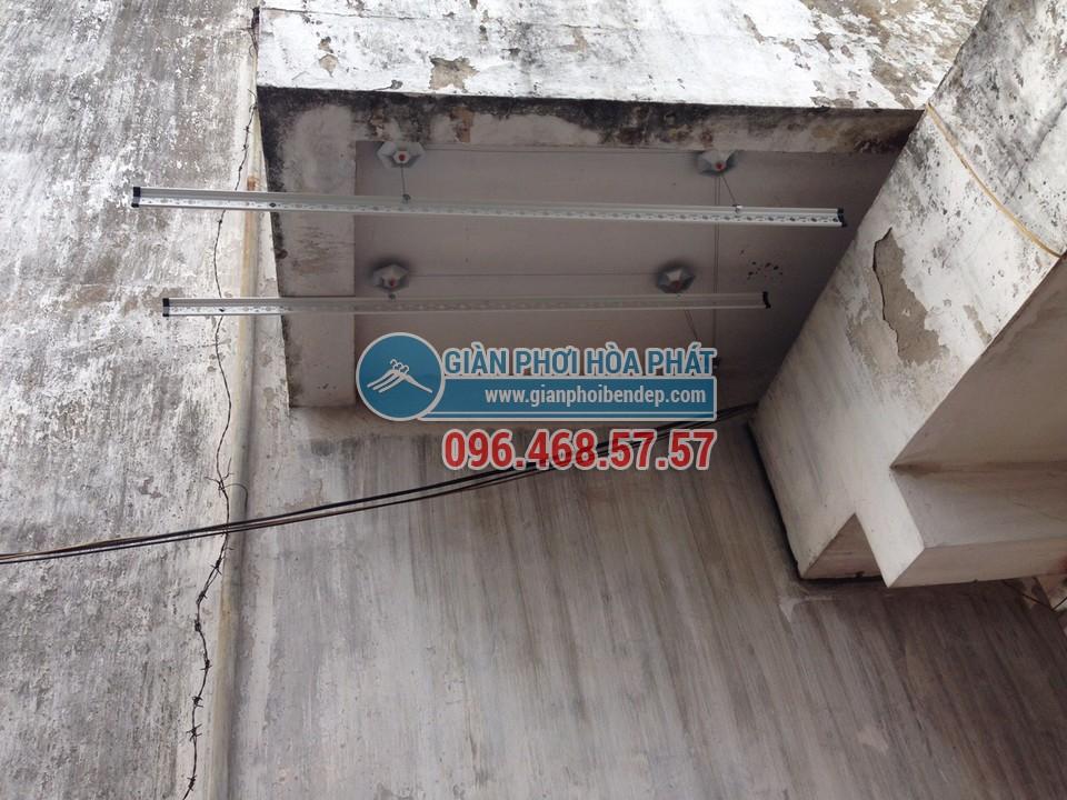 Lắp đặt giàn phơi thông minh nhà anh Việt, số 155 Trường Chinh - 05