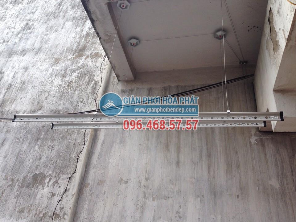 Lắp đặt giàn phơi thông minh nhà anh Việt, số 155 Trường Chinh - 01