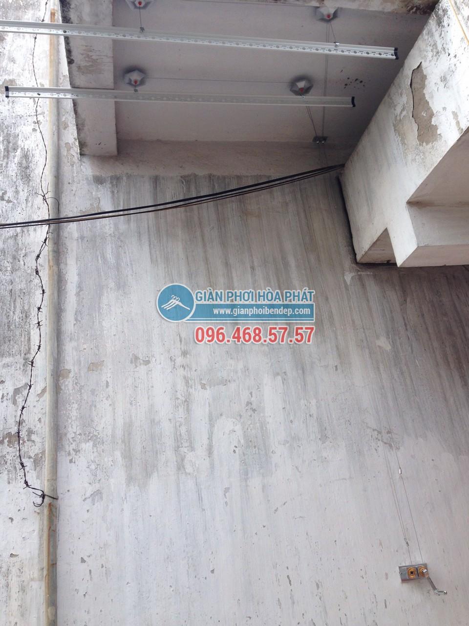 Lắp đặt giàn phơi thông minh nhà anh Việt, số 155 Trường Chinh - 03