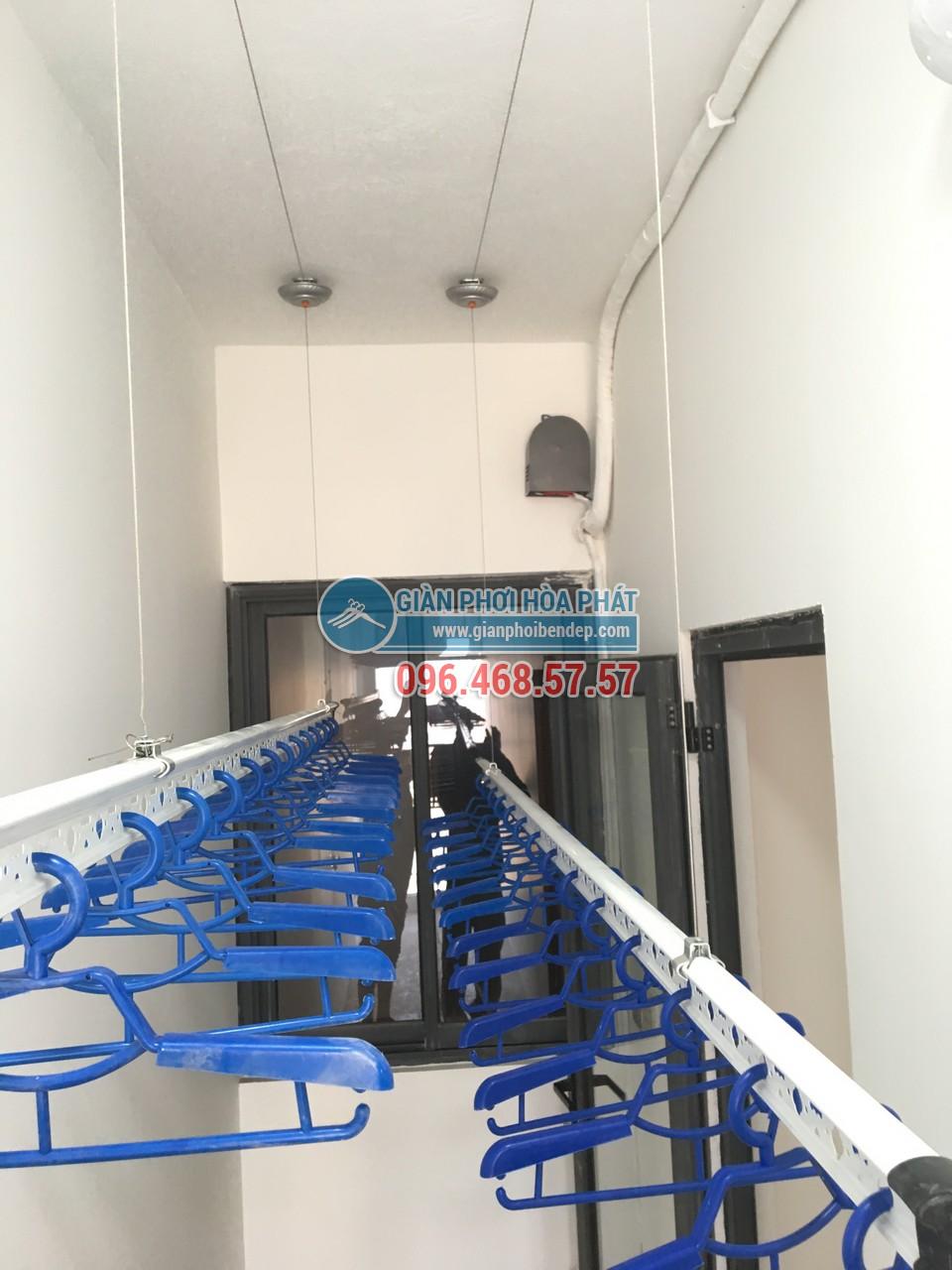 Hoàn thiện lắp đặt giàn phơi thông minh tại lô gia nhà chú Hưng, Golden West - 07