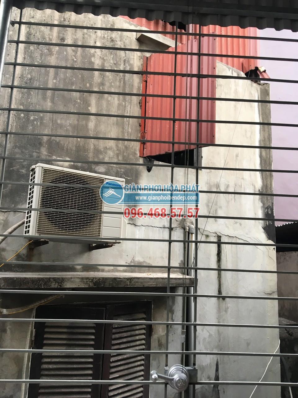 Lắp giàn phơi thông minh cho sân phơi bằng mái tôn nhà anh Chiến, Nguyễn Ngọc Nại - 01