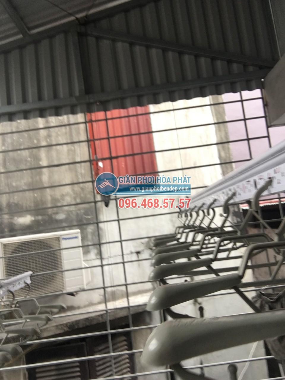 Lắp giàn phơi thông minh cho sân phơi bằng mái tôn nhà anh Chiến, Nguyễn Ngọc Nại - 05