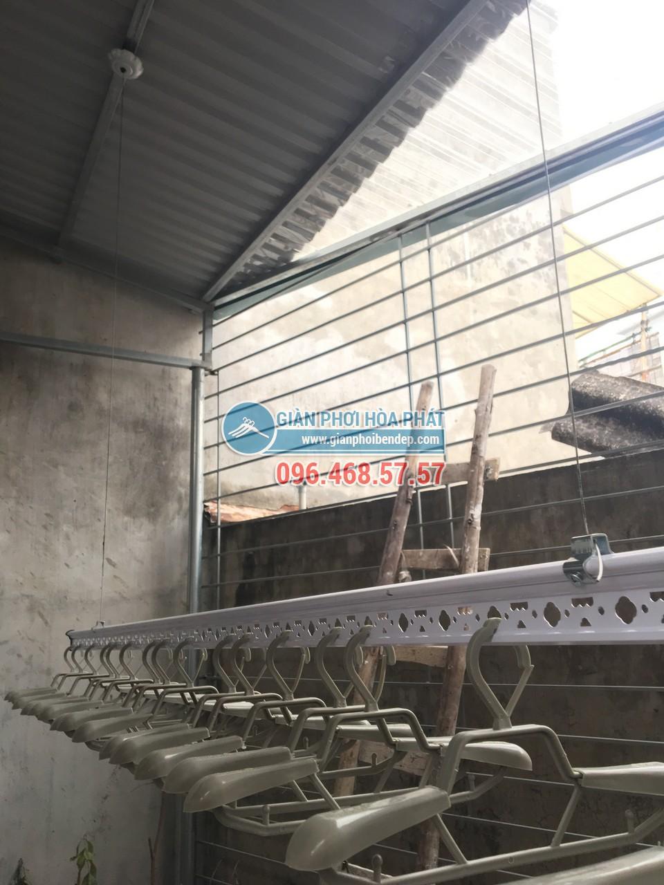 Lắp giàn phơi thông minh cho sân phơi bằng mái tôn nhà anh Chiến, Nguyễn Ngọc Nại - 06
