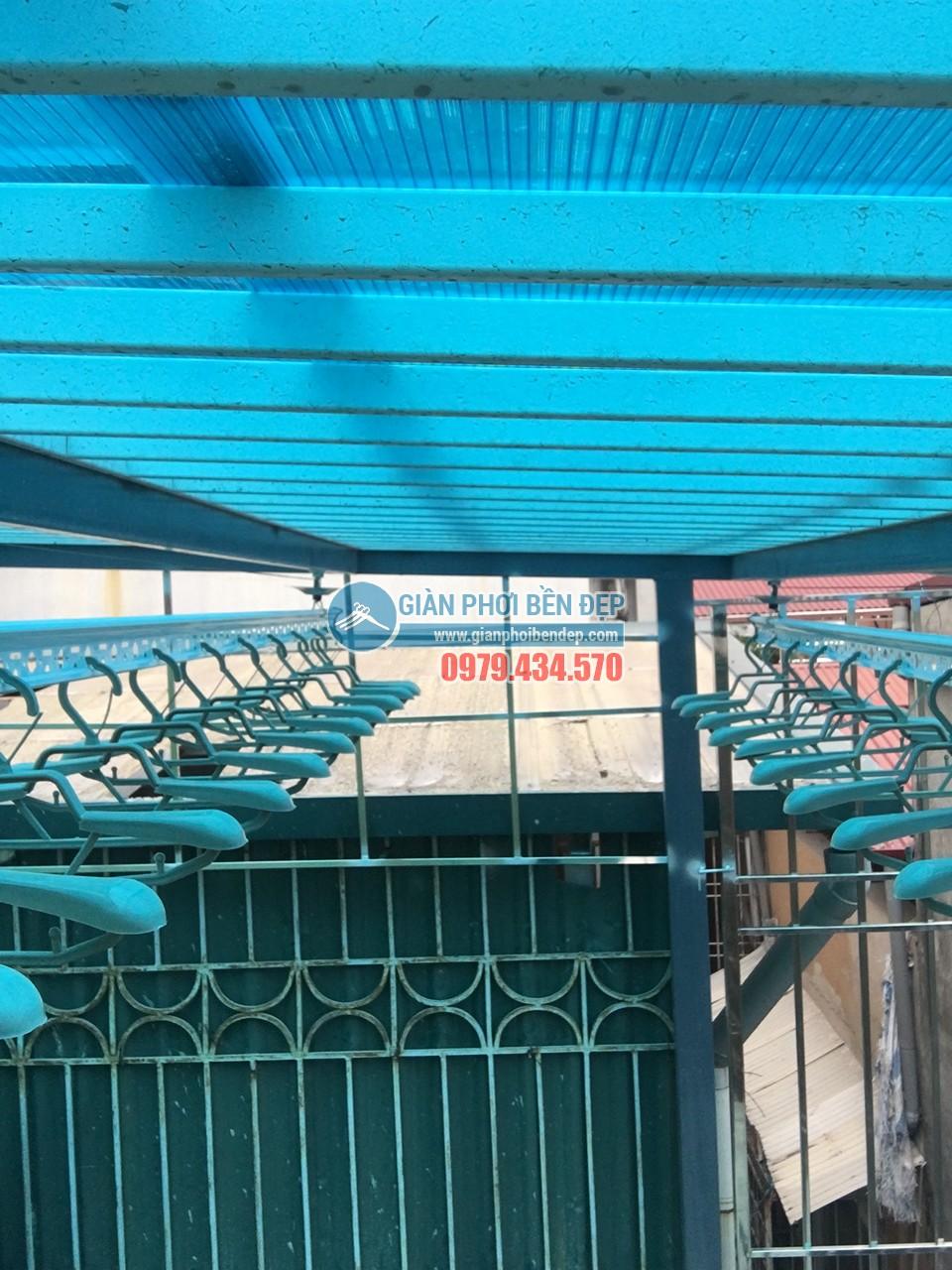 Loạt ảnh cận cảnh về sự thay đổi của sân phơi với giàn phơi thông minh nhà chị Mai, KĐT Mỗ Lao - 05