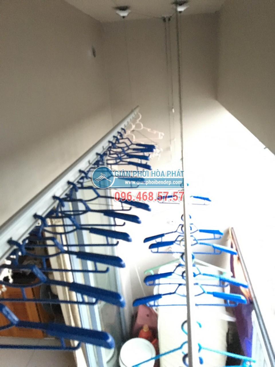 Mở rộng ban công chặt hẹp nhờ lắp đặt sử dụng giàn phơi thông minh - 02