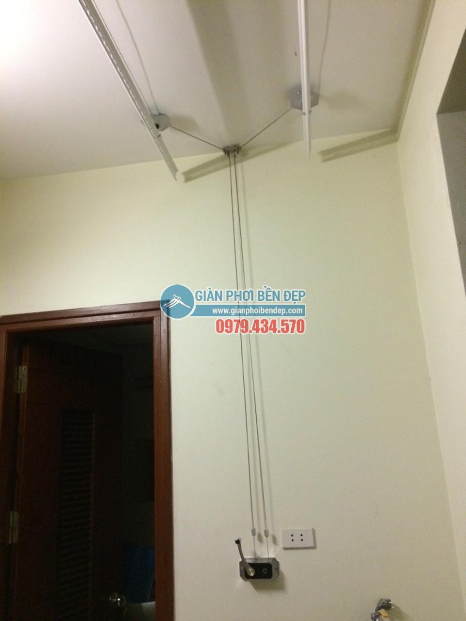 Tiết kiệm không gian nhờ lắp đặt giàn phơi thông minh như nhà chị Huệ, Nguyễn Khang - 03