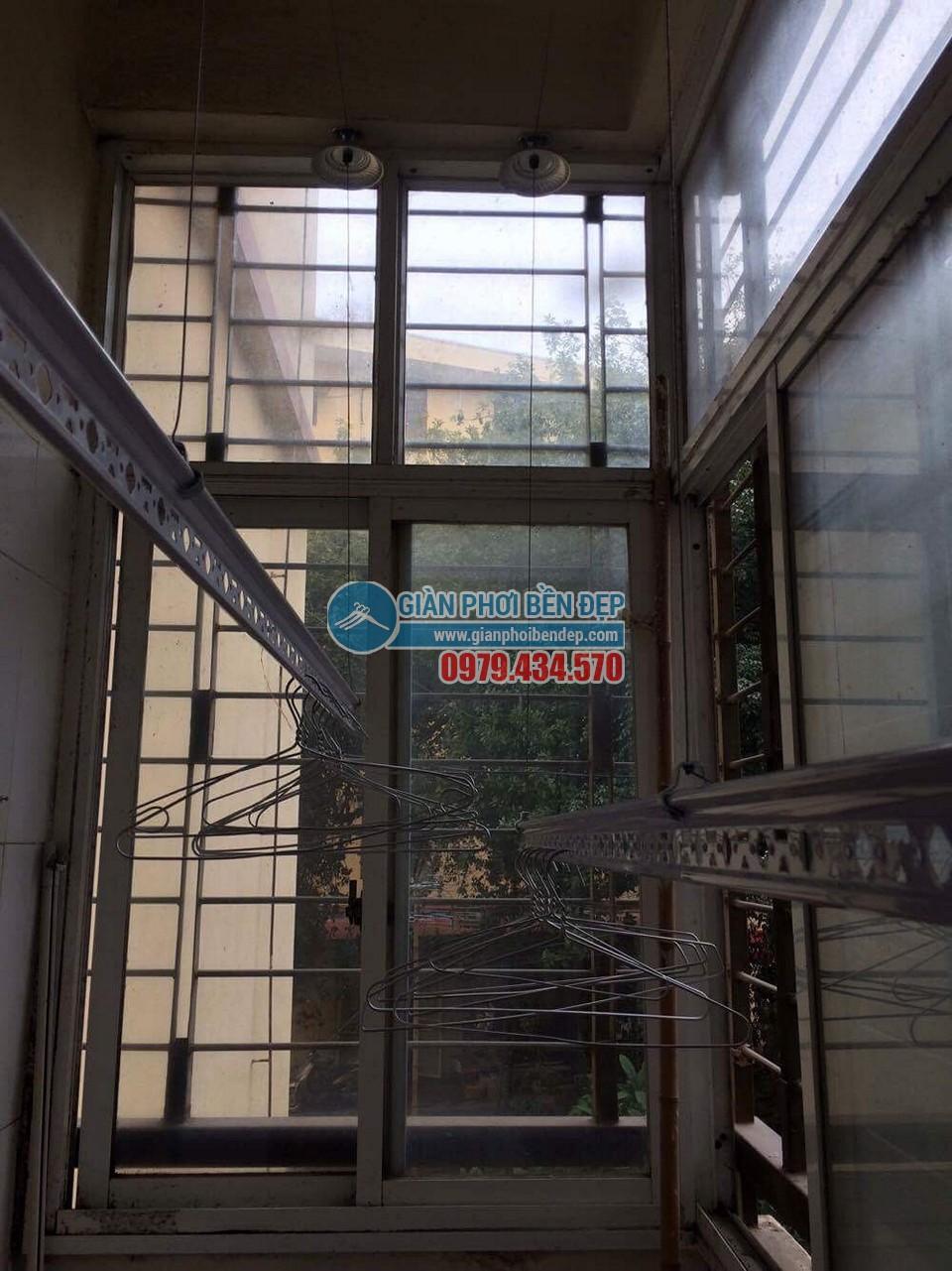 Lắp đặt giàn phơi thông minh nhà chị Minh, Tân Xuân - Xuân Đỉnh - 05
