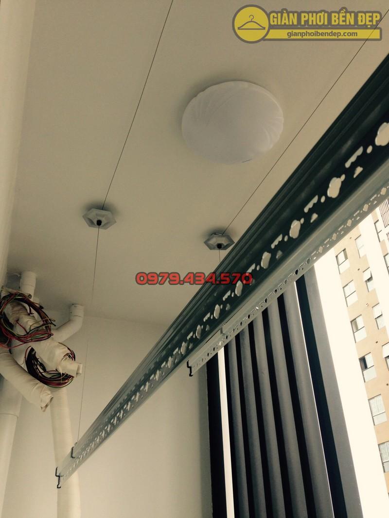 Lắp đặt giàn phơi nhà anh Hà chung cư Five Star - số 2 Kim Giang-07
