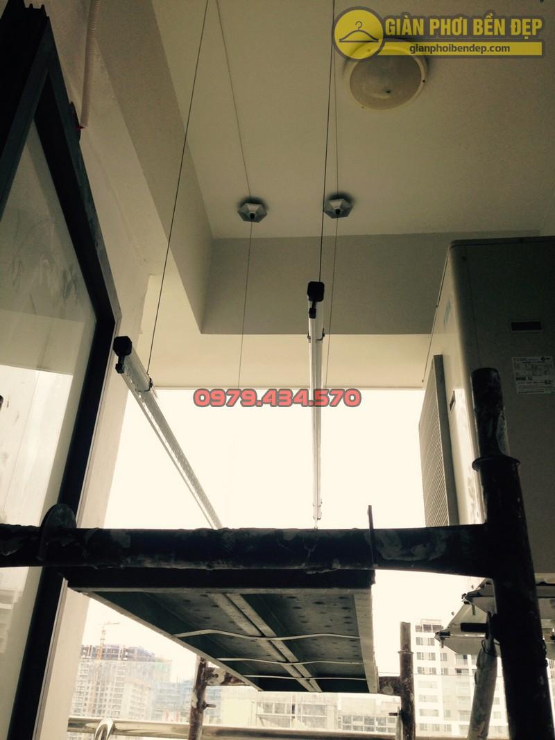 Bàn giao bộ giàn phơi KS999B nhà anh Phú chung cư Hancorp khu Ngoại Giao Đoàn-03