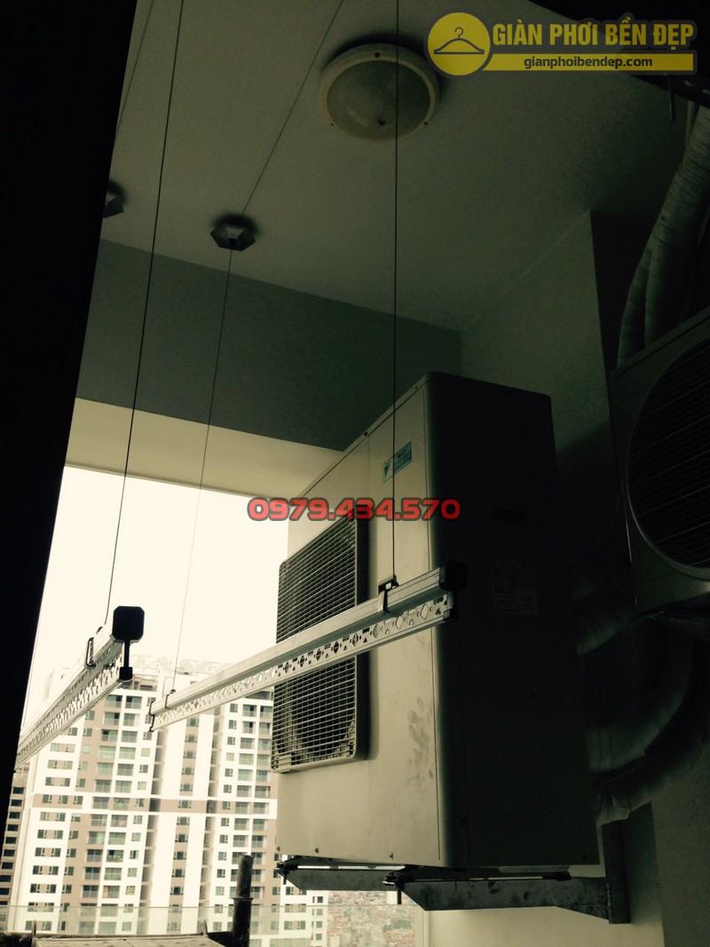 Bàn giao bộ giàn phơi KS999B nhà anh Phú chung cư Hancorp khu Ngoại Giao Đoàn-04