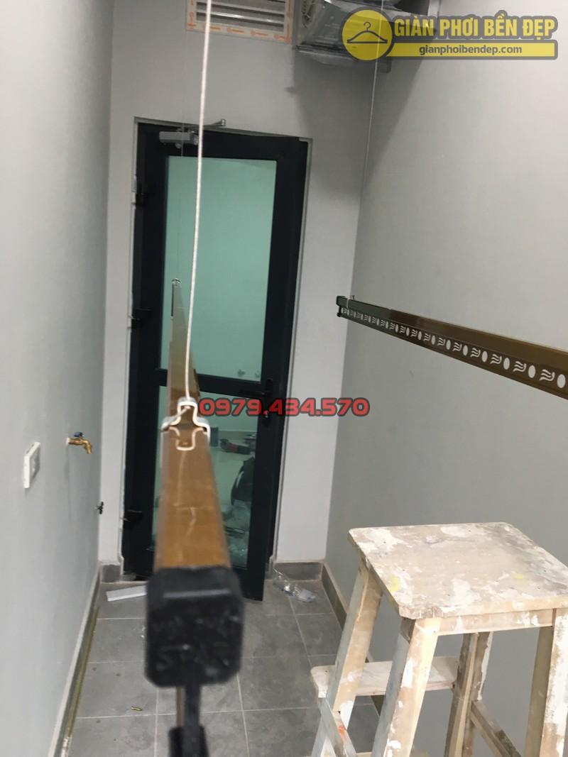Lô gia sang trọng nhờ lắp bộ giàn phơi KS900 nhà chị Trà Trần Quý Kiên-04