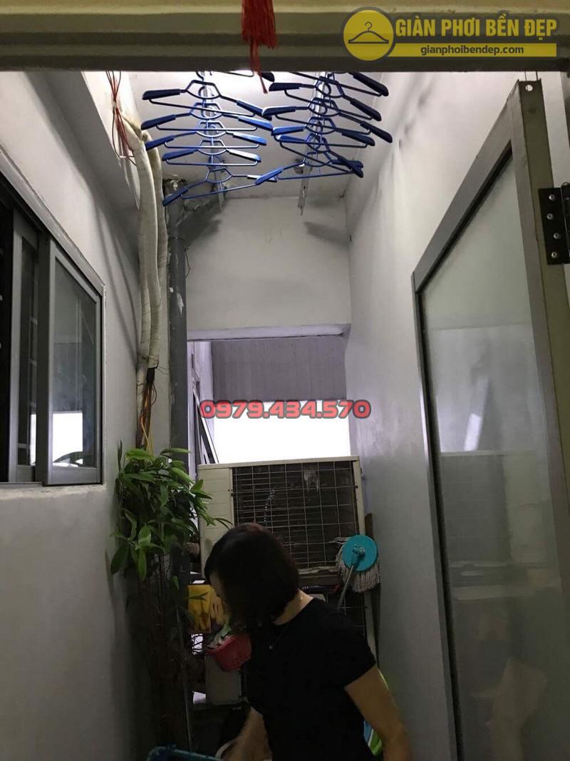 Thay dây cáp giàn phơi nhà chị Hiền chung cư Mipec - Kiến Hưng - Hà Đông-09