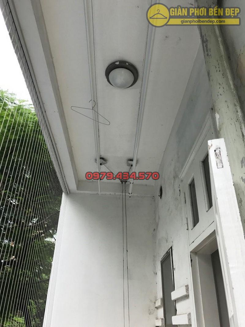Sửa giàn phơi - thay dây cáp nhà bác Thụy Ngọc Thụy, Gia Lâm-10