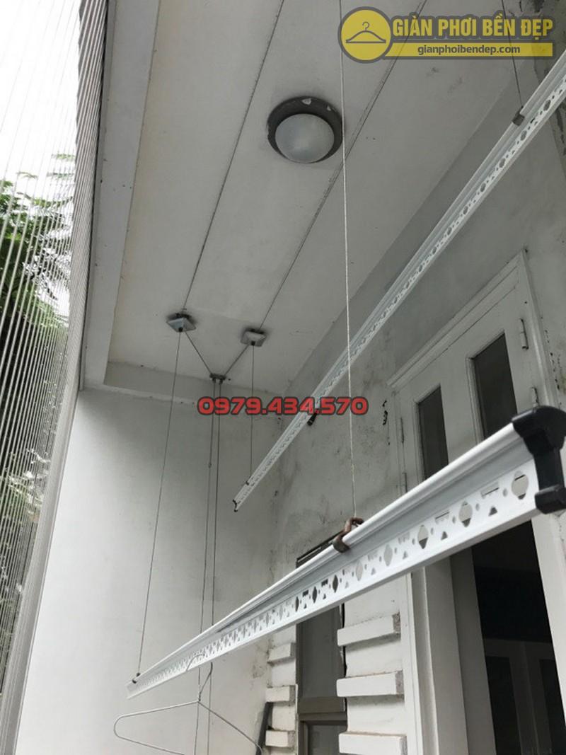 Sửa giàn phơi - thay dây cáp nhà bác Thụy Ngọc Thụy, Gia Lâm-04
