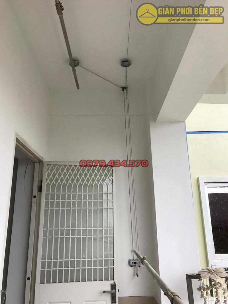 Sửa giàn phơi thông minh nhà chú Dự chung cư P2 - KĐT Việt Hưng-06