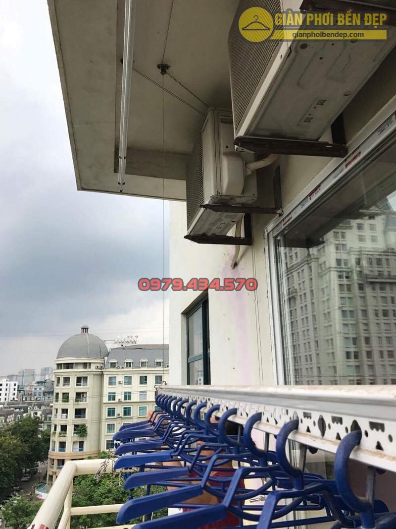 Sửa dây cáp giàn phơi nhà cô Xuyến tòa CT1-1, KĐT Mễ Trì Hạ-05