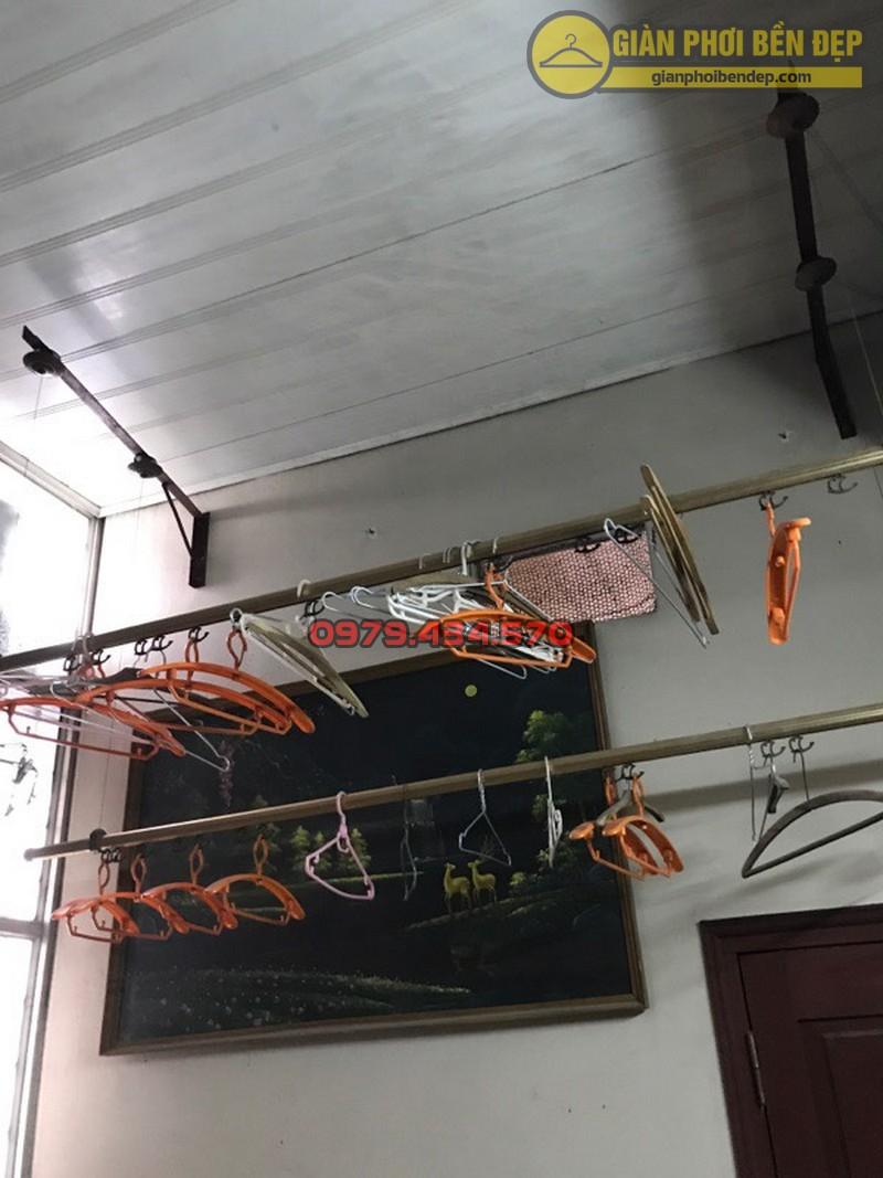 Thay dây cáp giàn phơi thông minh nhà cô Lành, Hoàng Quốc Việt-03
