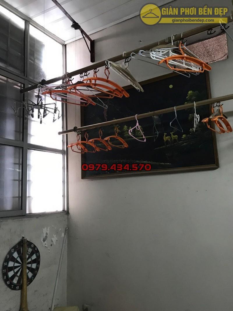Thay dây cáp giàn phơi thông minh nhà cô Lành, Hoàng Quốc Việt-04