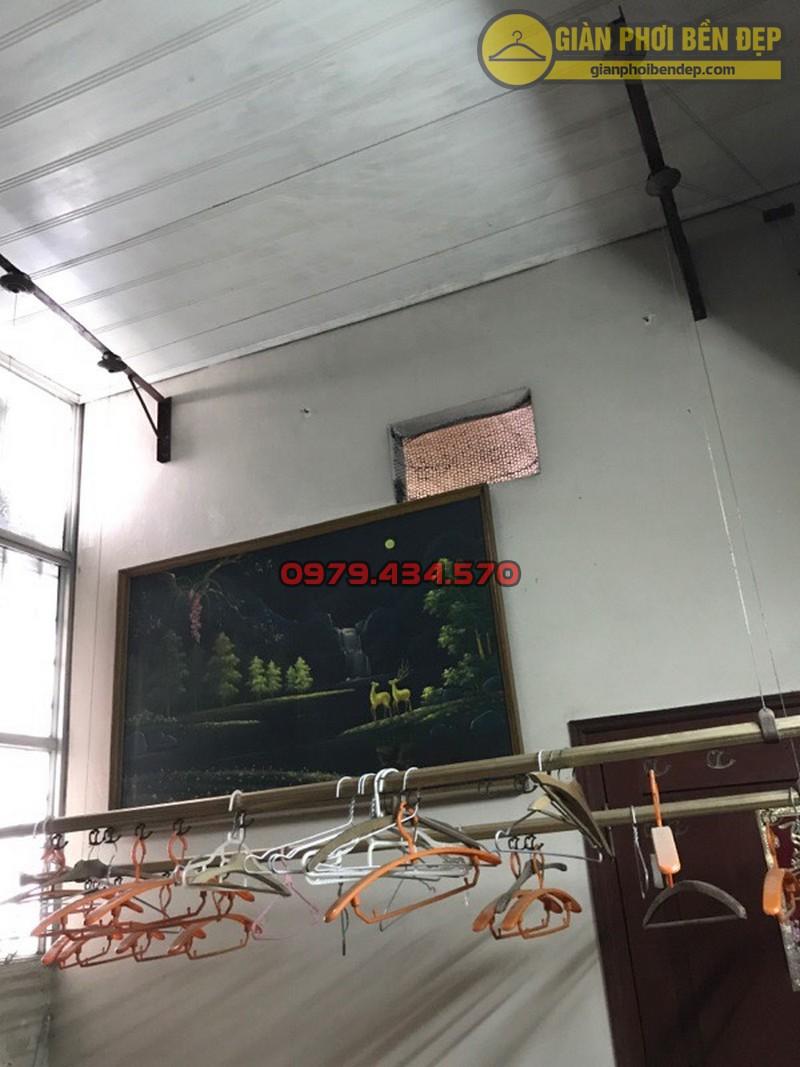 Thay dây cáp giàn phơi thông minh nhà cô Lành, Hoàng Quốc Việt-07