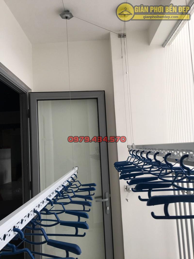 Lưới an toàn ban công kết hợp giàn phơi thông minh chung cư Park 8 -02