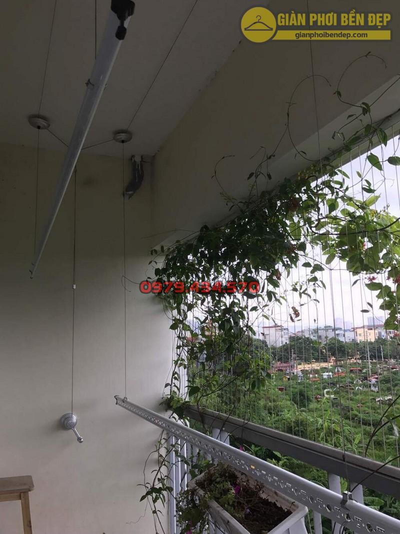 Lắp giàn phơi KS950 nhà cô Thúy chung cư viện 103, Hà Đông-10