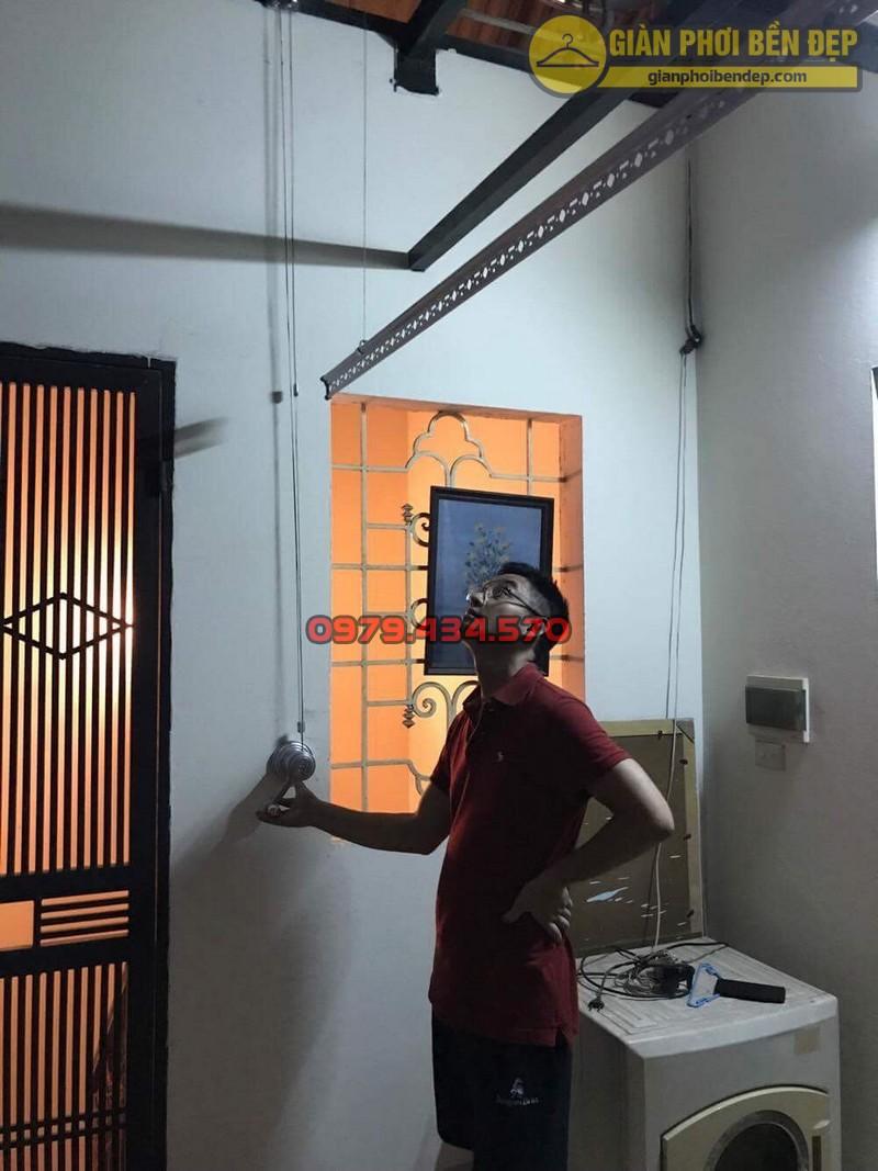 Lắp giàn phơi cho trần mái tôn nhà anh Hiển tại Thái Phiên, Lê Đại Hành-07