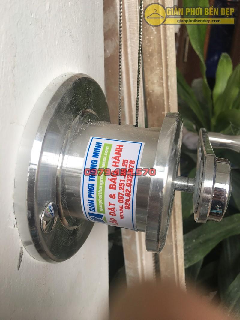 Lắp giàn phơi Đống Đa nhà cô Thoan ở ngõ 92 Nguyễn Lương Bằng