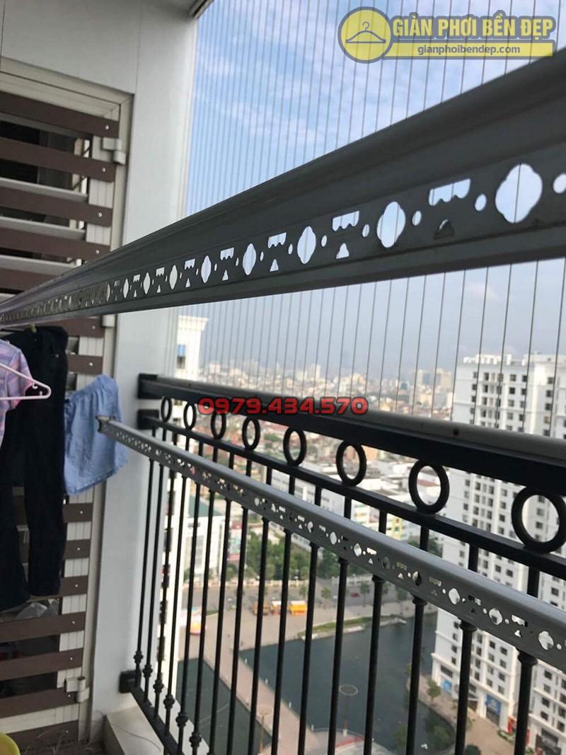 Bộ giàn phơi nhập khẩu Singapore nhà chi Lảnh chung cư 536A Minh Khai