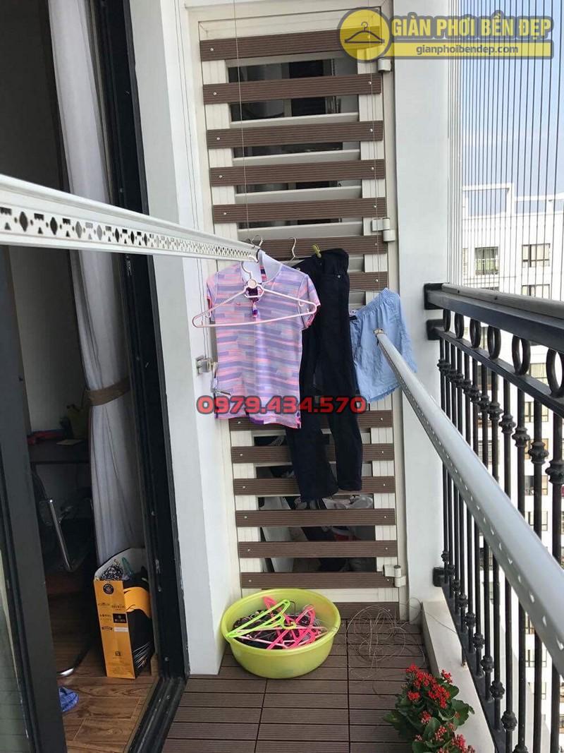 Bộ giàn phơi nhập khẩu Singapore nhà chi Lảnh chung cư 536A Minh KhaiBộ giàn phơi nhập khẩu Singapore nhà chi Lảnh chung cư 536A Minh Khai