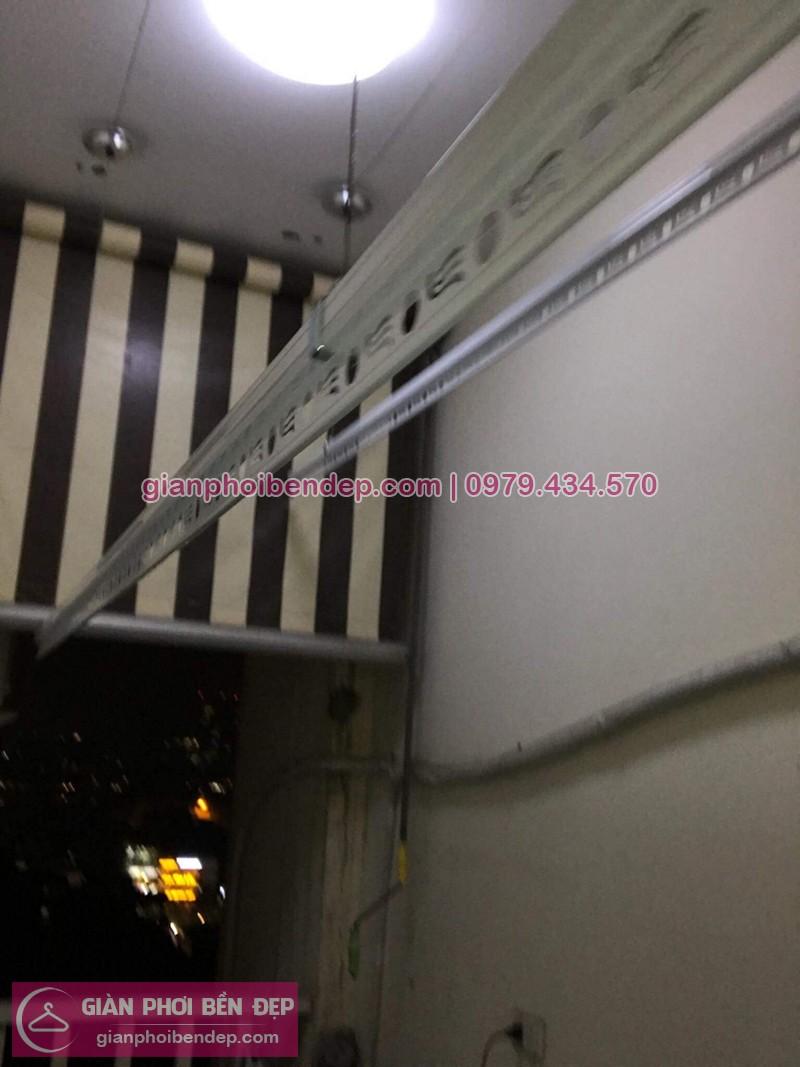 Lắp giàn phơi Hai Bà Trưng nhà chị Thắm ở 122 Yên Duyên, Yên Sở
