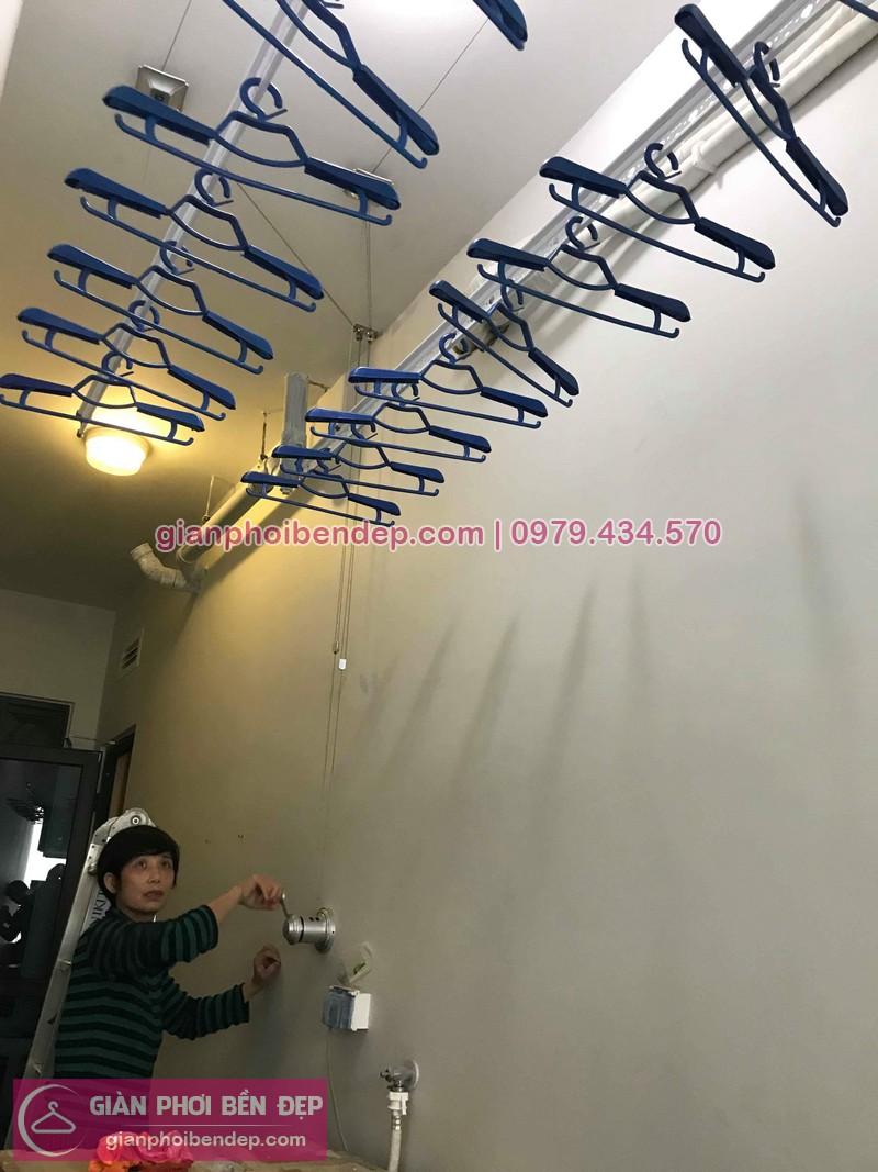 Lắp giàn Từ Liêm nhà chị Thư ở chung cư Goldmark City 136 Hồ Tùng Mậu