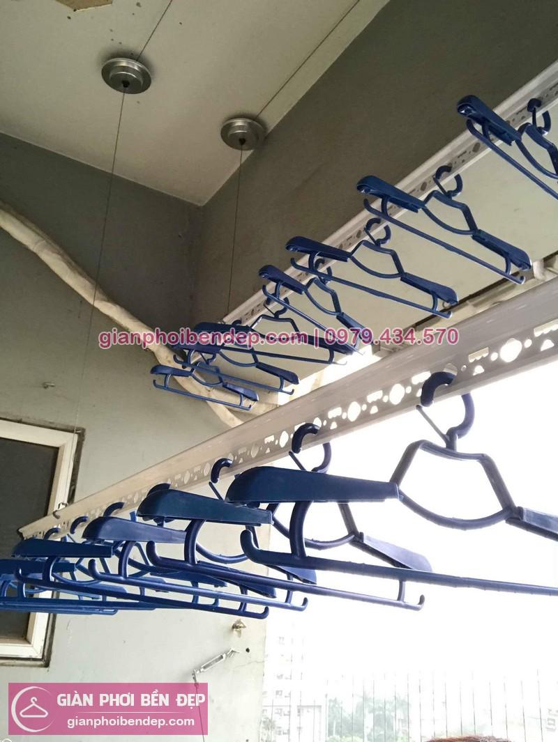 Lắp giàn phơi Hà Đông nhà chị Trinh ở chung cư CT2A Xa La