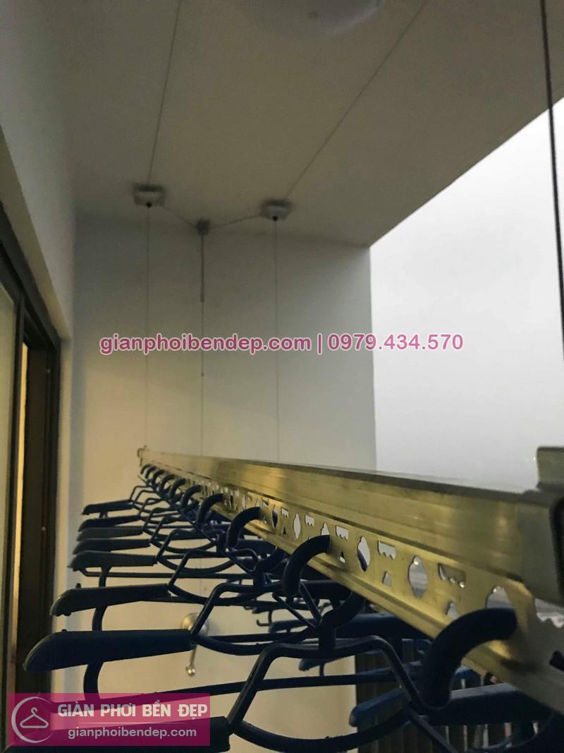 Lắp giàn phơi Thanh Xuân nhà chị Hiền ở chung cư Five Star Garden Kim Giang