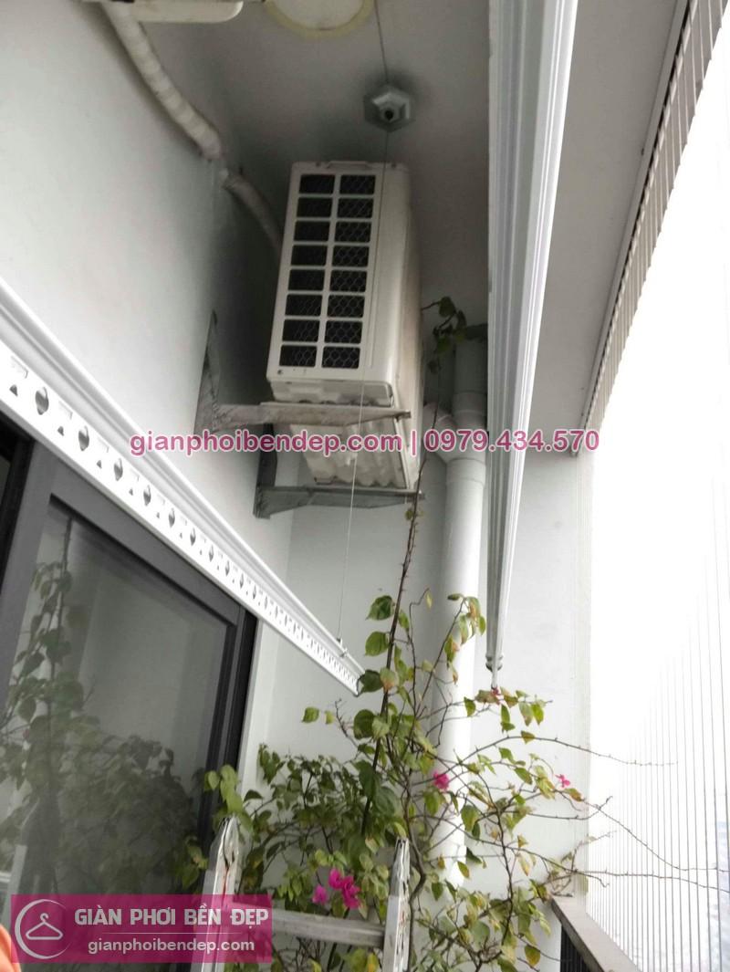 Lắp giàn phơi Thanh Xuân nhà chị Na ở chung cư Goladen West số 2 Lê Văn Thiêm