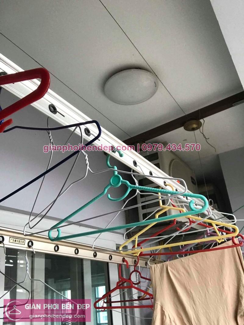 Sửa giàn phơi thông minh Hà Đông nhà chị Lê ở chung cư Mường Thanh Cienco
