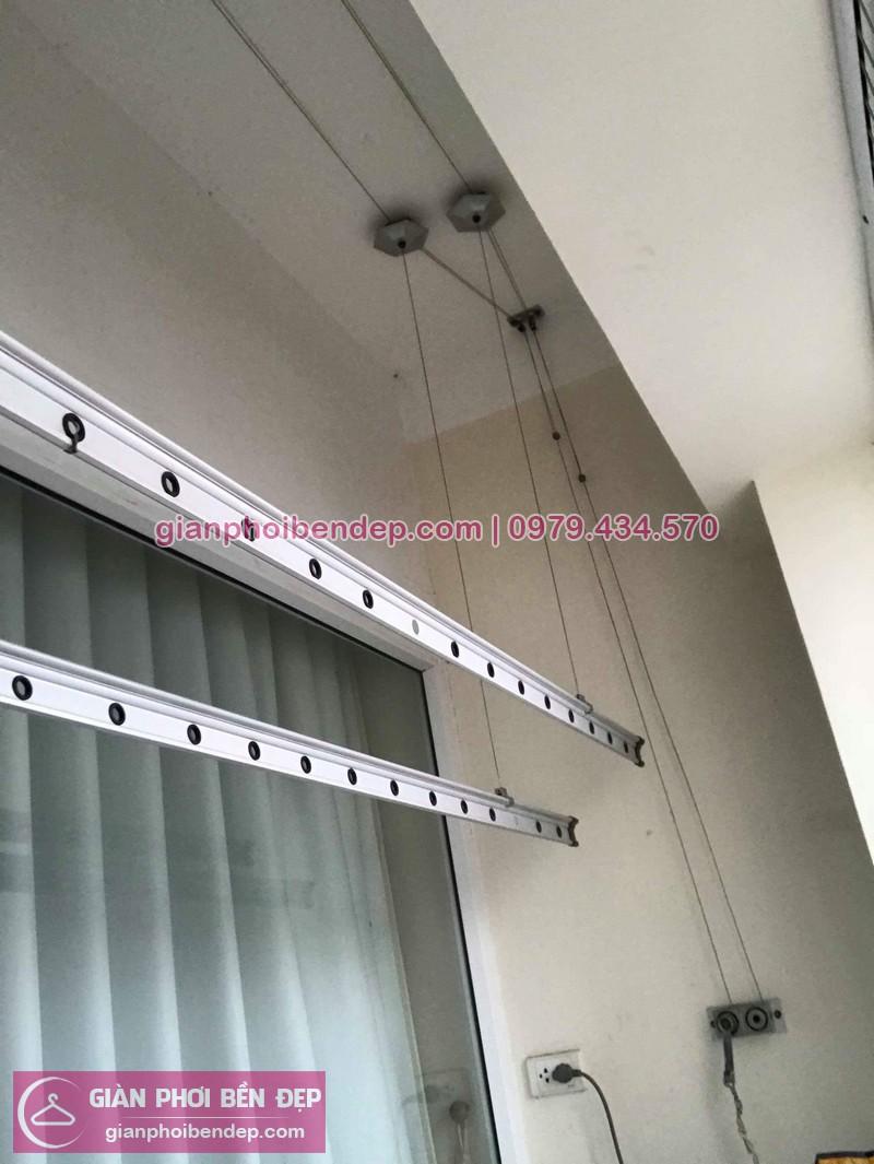 Sửa giàn phơi thông minh nhà anh Lĩnh ở chung cư CT1 Trung Văn, Từ Liêm