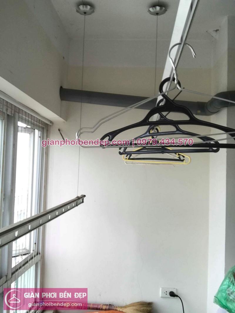 Sửa giàn phơi thông minh nhà chị Lam ở tòa nhà 15T1 Tam Trinh, Hoàng Mai