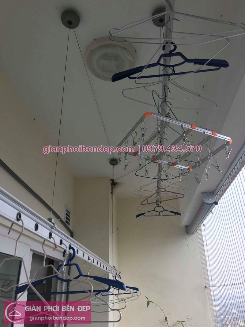 Sửa giàn phơi thông minh nhà chị Ly ở chung cư Nam Đô CT1A