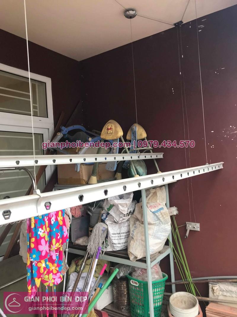 Sửa chữa giàn phơi thông minh nhà chị Ninh ở phố Đỗ Quang, Trần Duy Hưng