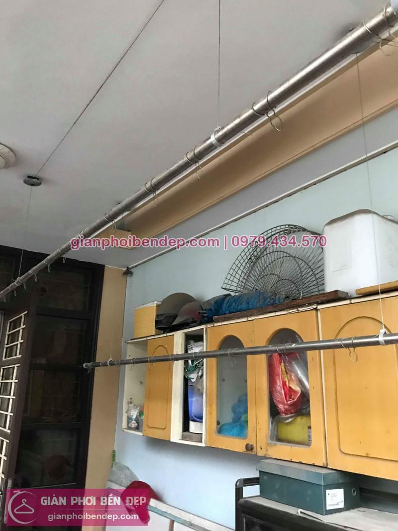 Sửa giàn phơi thông minh nhà anh Hữu ở Phạm Văn Đồng, Từ Liêm