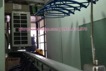 Sửa giàn phơi thông minh nhà chị Linh ở chung cư Hoà Phát, 46 phố Vọng