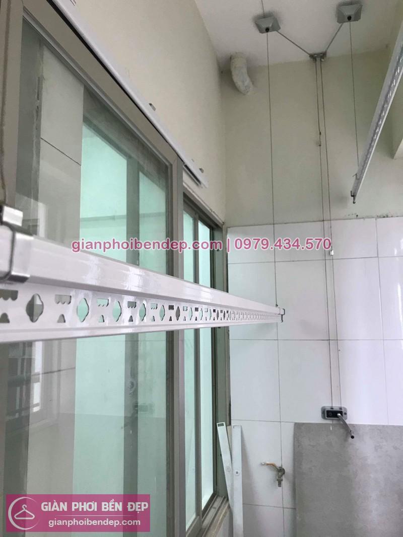 Sửa giàn phơi thông minh nhà chị Phụng ở chung cư N3 Nguyễn Công Trư